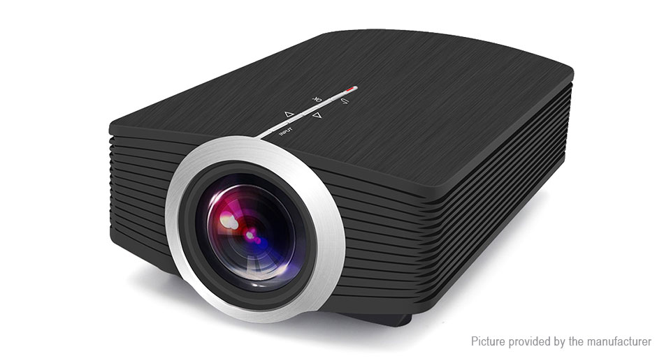 YG510 1080p Portable LED Projector Home Theater