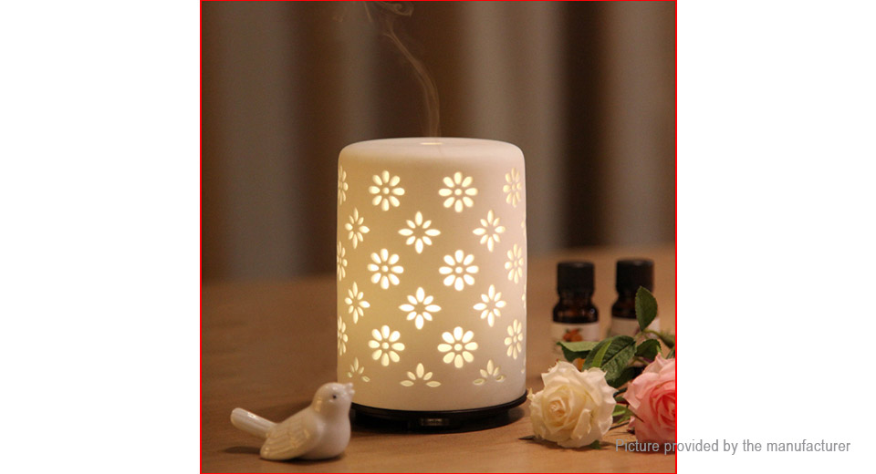 Mini Ultrasonic Essential Oil Aroma Diffuser Humidifier Air Purifier (US)
