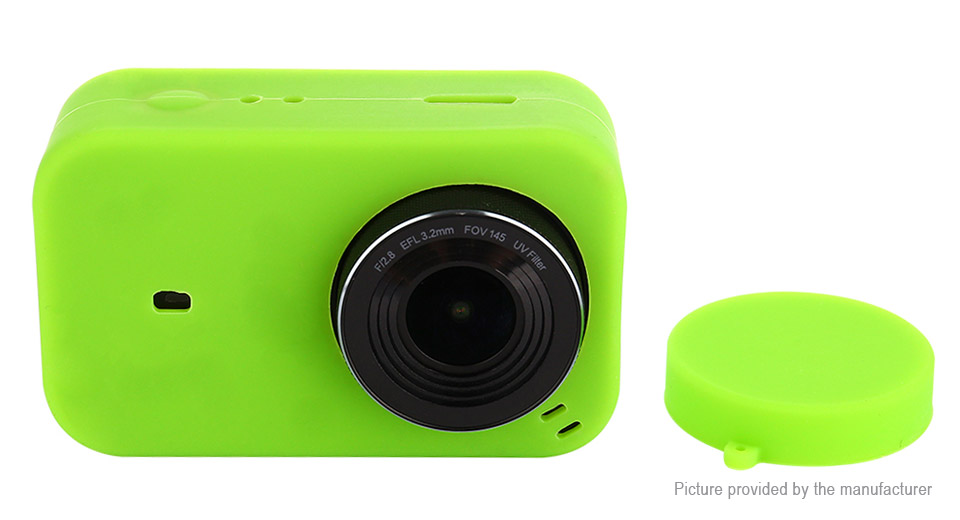 Silicone Protective Sleeve Case for Xiaomi MiJia 4K Sports Camera