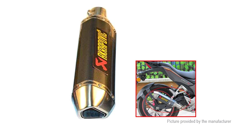 FEELWIND Motorcycle Tail Exhaust Muffler Pipe