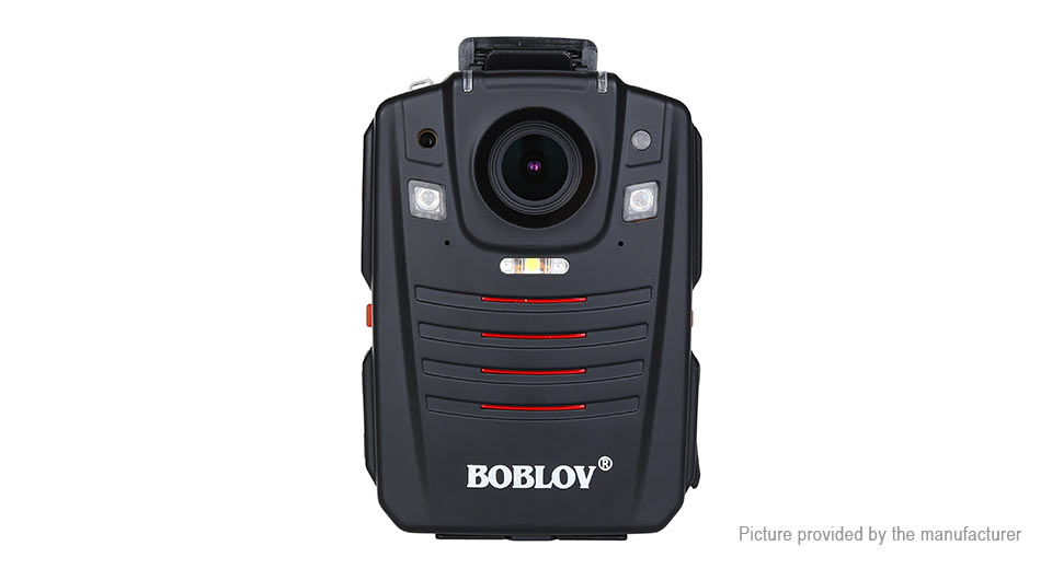 BOBLOV HD66-07 1296p HD Police Body Video Camera DVR Camcorder (32GB/US) HD66-07, 32GB, Black, US