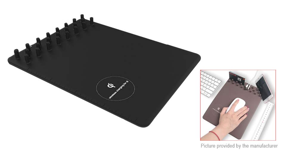 2-in-1 Wireless Charger Mouse Pad