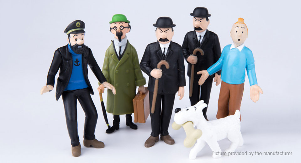 The Adventures of Tintin Series Action Figure Doll Toy