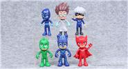 Buy PJ Masks Series Action Figure Doll Toy PJ Masks, 6-piece Set for $6.88 in Fasttech store
