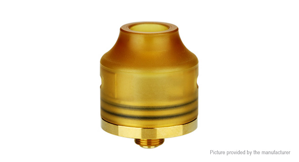 Authentic Oumier Wasp Nano RDA Rebuildable Dripping Atomizer (TPD Version) Wasp Nano, SS + PEI, Gold, TPD