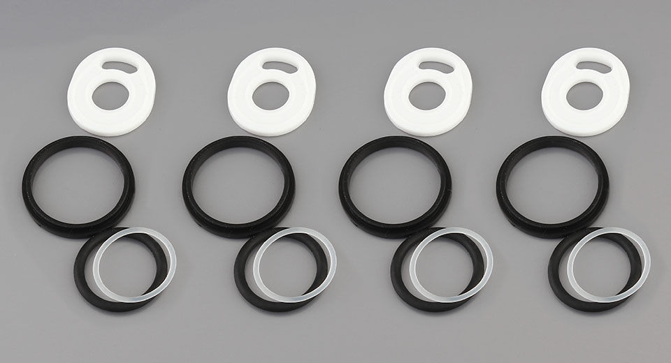 Replacement Silicone O-Ring Set for SMOK TFV12 Prince Clearomizer (4-Pack)