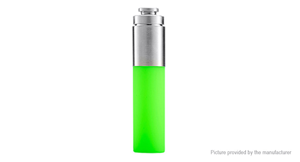 Authentic Stentorian RAM Mechanical Mod Replacement Squonk Bottle Silicone + SS, 30ml, Green