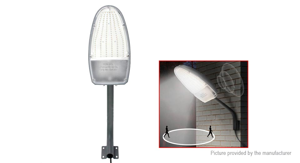 Bongkim LED Road Street Light Outdoor Garden Spot Lamp RLPC-02, 24W, Radar + Light Sensor, 6500K