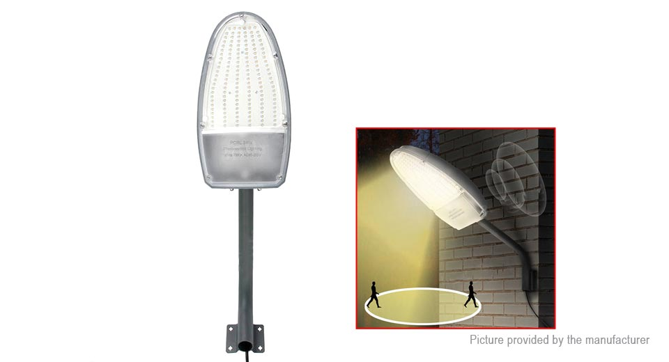 Bongkim LED Road Street Light Outdoor Garden Spot Lamp RLPC-02, 30W, Light Control, 3300K