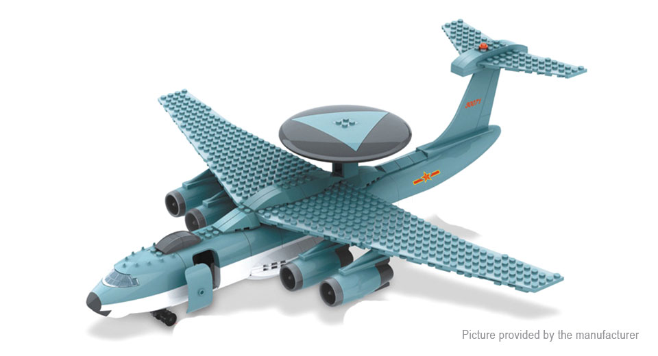 Wange JX004 KJ2000 Building Blocks Educational Toy JX004, AirBorne Early Warning & Control System