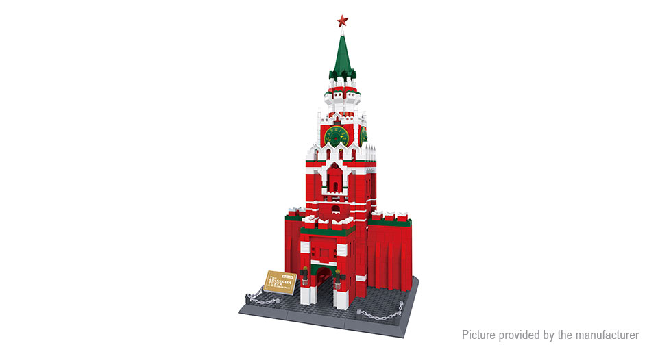 Wange 8017 Spasskaya Tower Building Blocks Educational Toy 8017, Spasskaya Tower