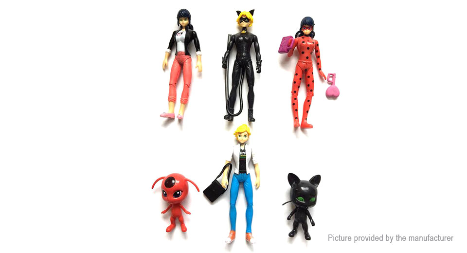 Miraculous Ladybug Series Action Figure Doll Toy