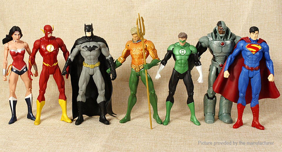 Justice League Series Action Figure Doll Toy