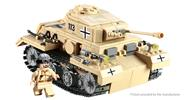 Buy KAZI 82008 World War II Tank Building Blocks Educational Toy 82008, World War II Tank for $20.22 in Fasttech store