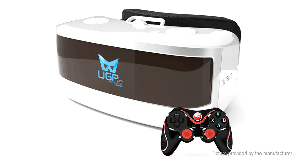 UGP H1 Virtual Reality VR Headset 3D Goggles