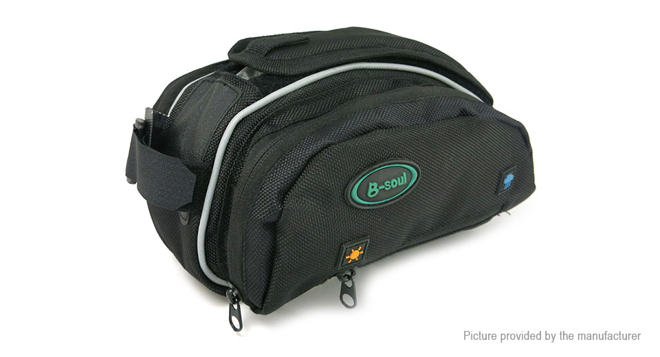 B-SOUL YA025 Outdoor Cycling Bicycle Front Tube Frame Bag