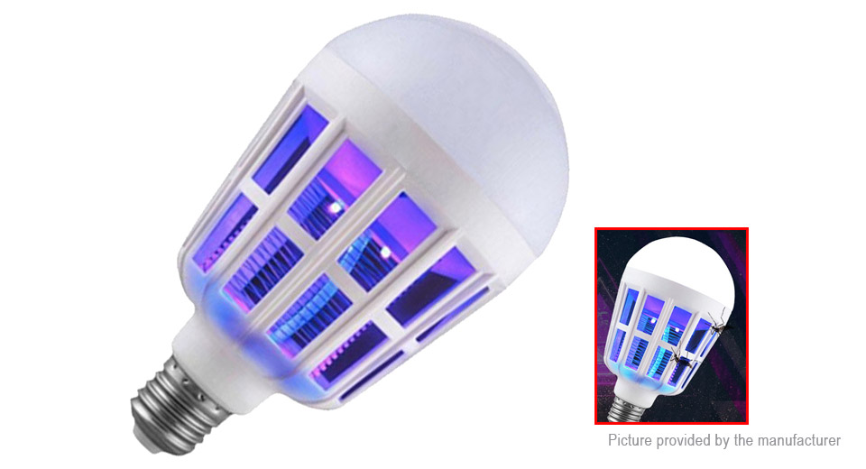 SLX-MWD01 Anti-Mosquito Electronic Insect Fly Zapper LED Light Bulb