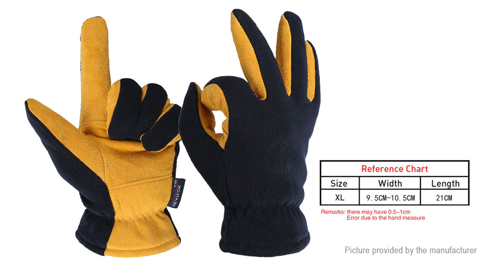 OZERO Outdoor Cycling Working Security Protection Full Finger Glove (Size XL/Pair)