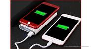 "2-in-1 Qi Inductive Wireless Charger Transmitter Power Bank (3.7V ""10000mAh"")"