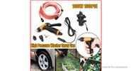 Buy Portable 100W High Pressure Car Electric Washer Auto Wash Pump Set for $26.55 in Fasttech store
