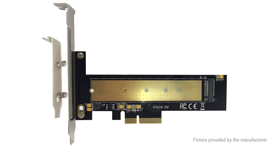 M.2 NGFF to PCIe 16X SSD Adapter Converter Card