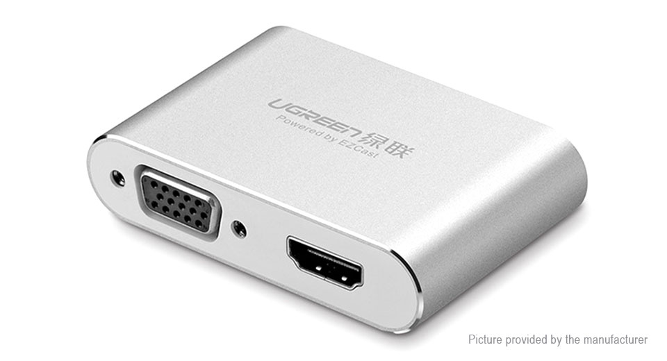 Authentic UGREEN Micro-USB to HDMI + VGA Converter Adapter