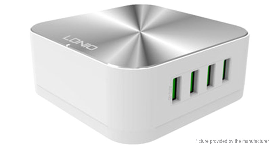 LDNIO A8101 Multifunction Desktop 8-Port USB Charger Power Adapter (US)