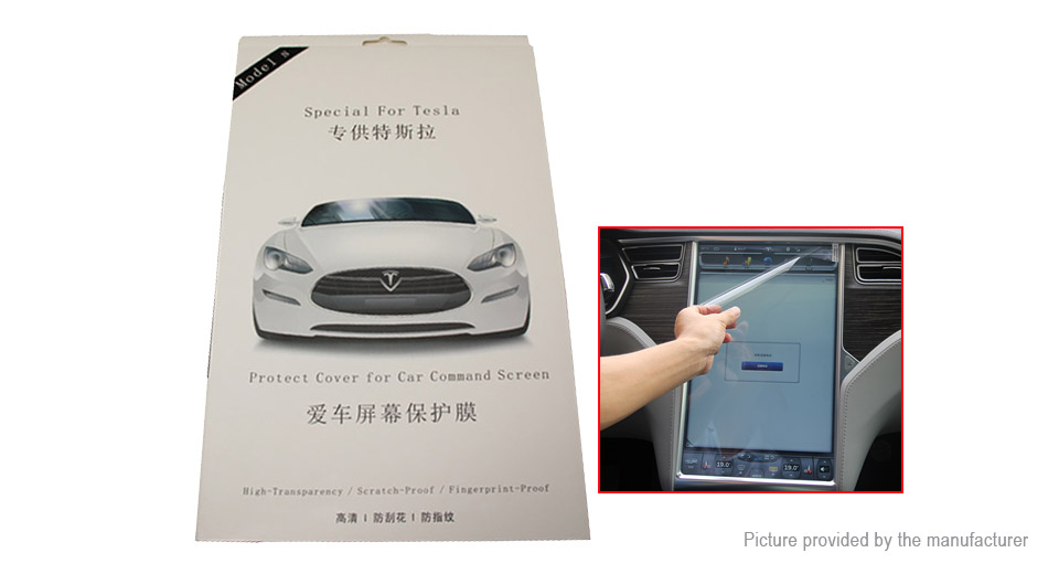 PET Screen Protector for Tesla Model S / X 17 Touch Screen