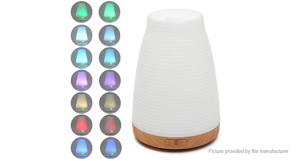 Essential Oil Diffuser Ultrasonic LED Humidifier Air Aromatherapy Purifier