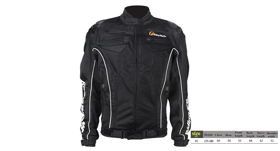 Riding Tribe JK-08 Motorcycle Racing Winter Waterproof Jacket (Size XL)