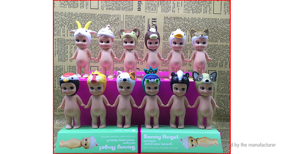 Kewpie Series Action Figure Doll Toy (12 Pieces)