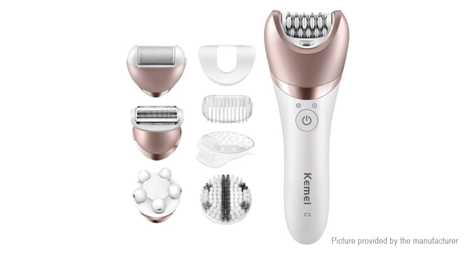 Kemei KM-8001 Rechargeable Lady Shaver Hair Remover