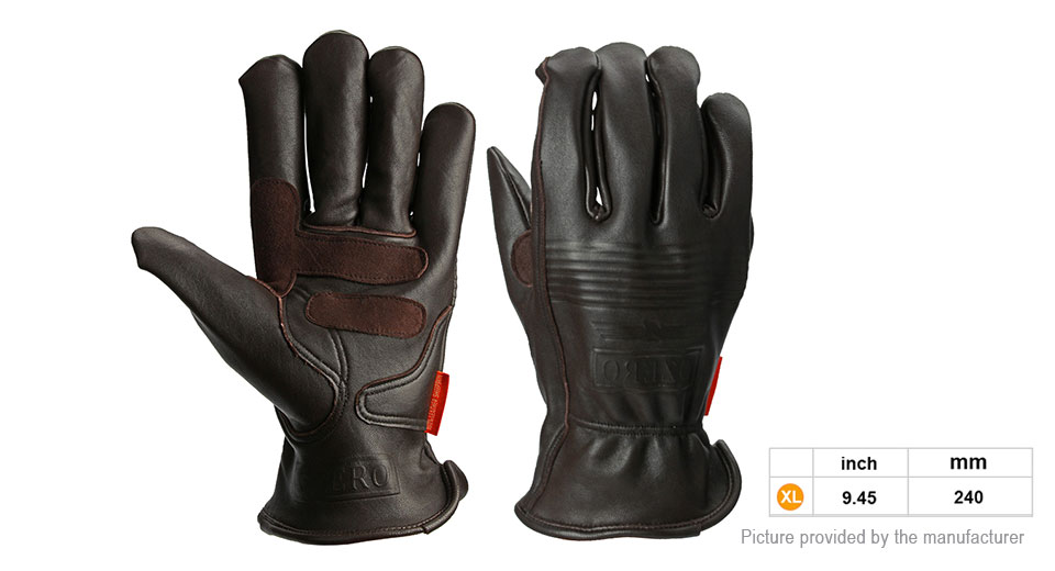 OZERO Motorcycle Racing Full Finger Gloves (Size XL/Pair)