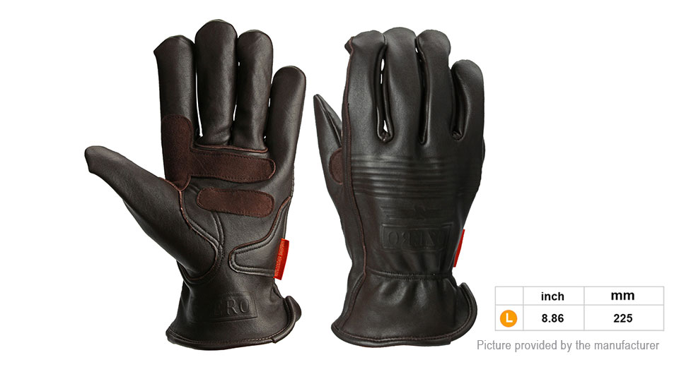 OZERO Motorcycle Racing Full Finger Gloves (Size L/Pair)