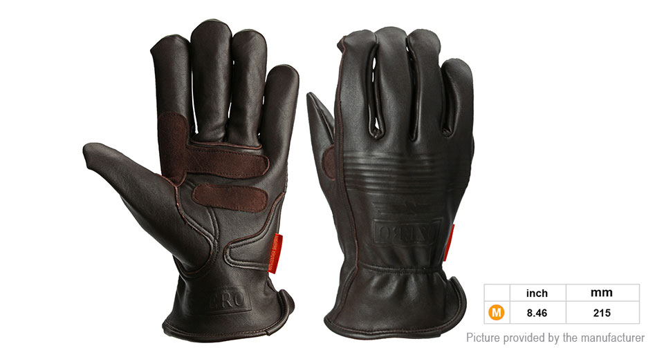 OZERO Motorcycle Racing Full Finger Gloves (Size M/Pair)