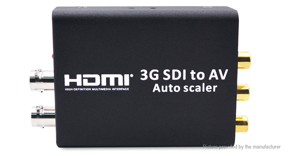 AYC-S01 3G SDI to AV Scaler Converter Adapter (EU)