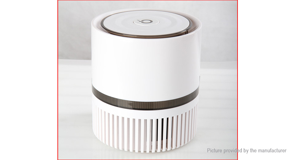 OZMUS JP-104 Portable Negative Ion Anion Desktop Air Purifier
