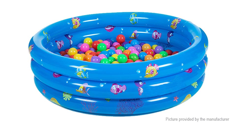 Inflatable Round Bathtub Swimming Paddling Pool for Kids