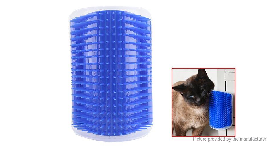 Pet Cat Scratcher Massage Brush Self Groomer Hair Removal