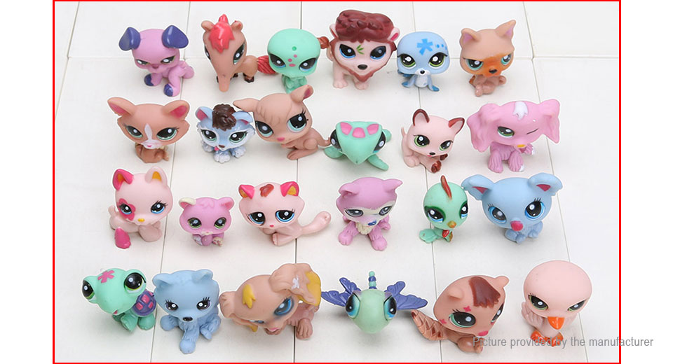 Pet Shop Cute Animal Series Action Figure Collection Doll Toy