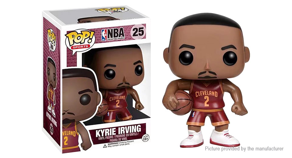 NBA Pop Stars Series Kyrie Irving Action Figure Doll Toy NBA Pop Stars Series (Kyrie Irving)