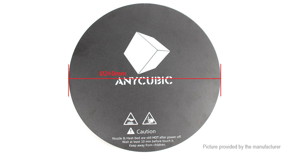 ANYCUBIC Frosted Sticker for 3D Printer Heat Bed