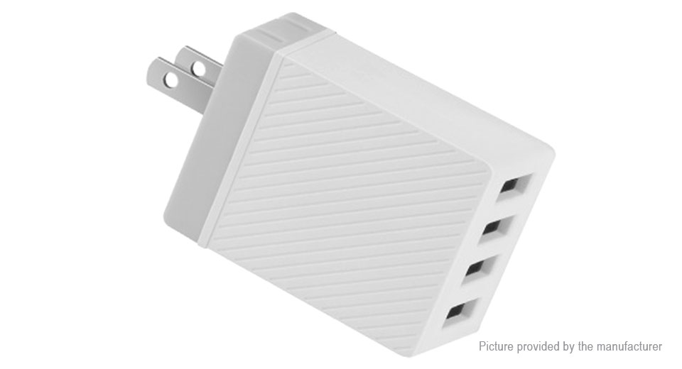 Product Image: authentic-hoco-c23b-4-port-usb-wall-charger-power