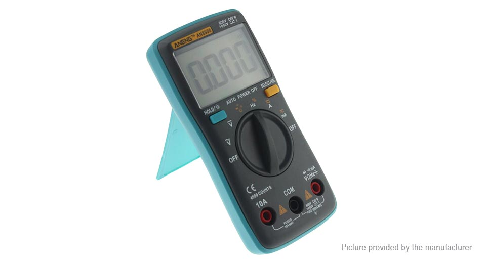 ANENG AN8000 Portable Digital Multimeter AN8000, Blue, Multimeter