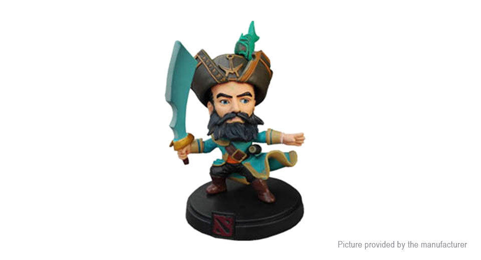 DOTA 2 Kunkka Action Figure Doll Toy
