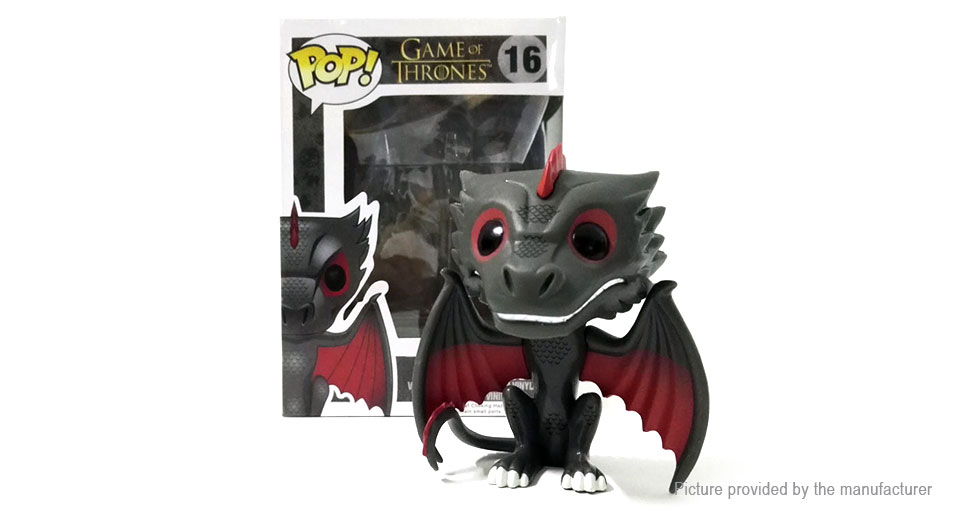 Game of Thrones Black Dragon Action Figure Doll Toy