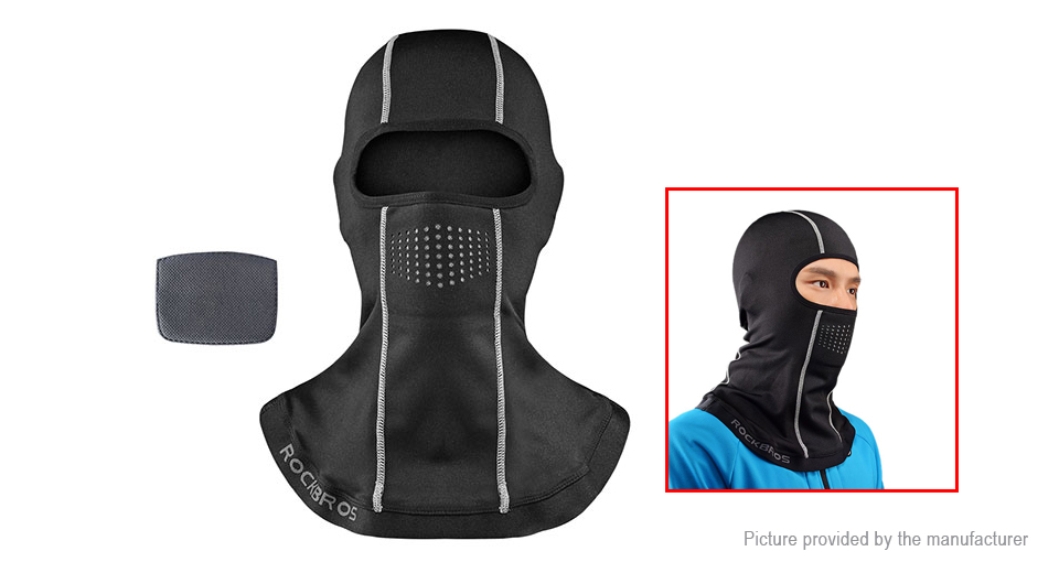 Authentic ROCKBROS Motorcycle Cycling Winter Warm Fleece Hat Face Mask