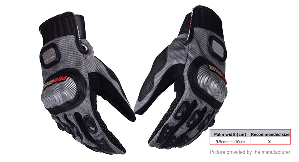 PRO-BIKER MCS-01A Motorcycle Skiing Racing Full Finger Gloves (Size XL/Pair)