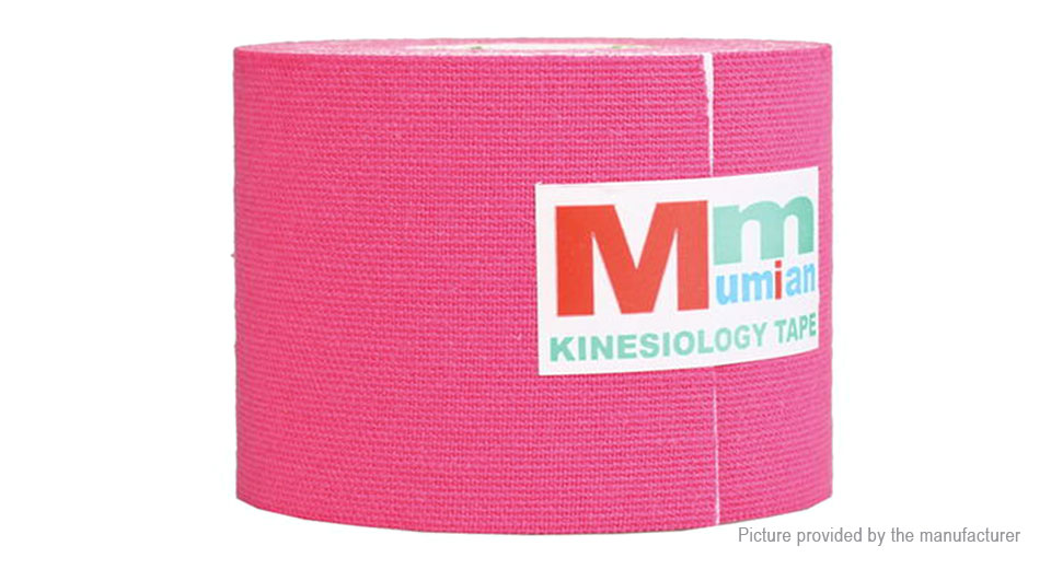 Mumian Sports Athletic Muscle Care Kinesiology Tape Therapeutic Bandage (5m)