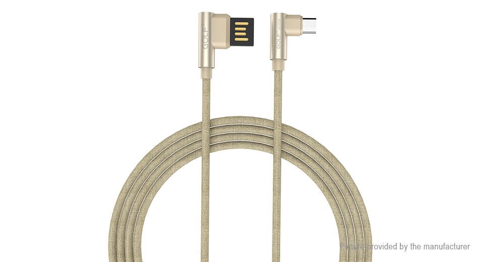 GOLF Micro-USB to USB 2.0 Braided Data Sync / Charging Cable (100cm)